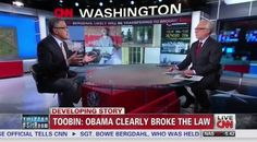 CNN Legal Analyst Calls Out Obama on the Air: 'You're Accusing the President of the United States of Breaking the Law'