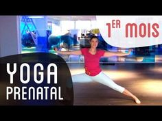 A Prenatal Yoga session * that combines breathing, back placement and stretching . Yoga Prenatal, Prenatal Workout, Pregnancy Workout, 1st Month Of Pregnancy, Yoga Fitness, Fitness Exercises, Lucile Woodward, Stress, Insanity Workout