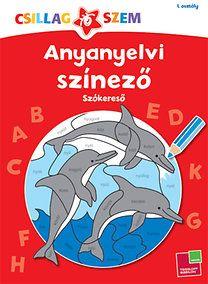 Anyanyelvi színező - Szókereső 48 old Tarot, Comic Books, Ocean, Album, Reading, Cover, Word Reading, Comic Book, Comics