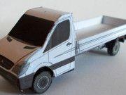 Mercedes-Benz Sprinter Free Vehicle Paper Model Download