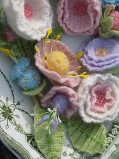 Cashmere flowers