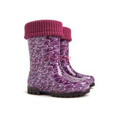 Demar Lux Bright Boys Girls Kids Warm Fleece Lined Wellington Boots Wellies - PurpleRooms Baseball Girls, Waterproof Rain Jacket, Raincoat Jacket, Sports Hoodies, Wellington Boot, Liner Socks, Kids Boots, Rain Wear, Boys Shoes