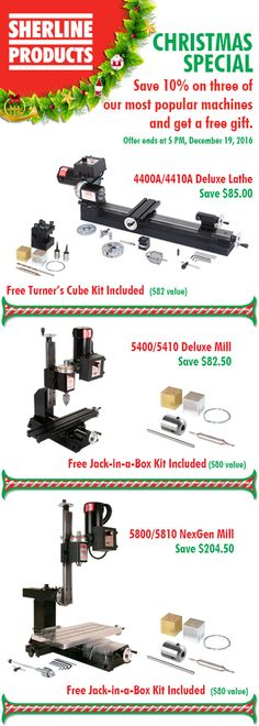 Save 10% on three of our most popular machines and get a free gift