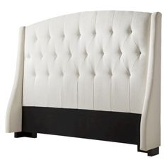Roma Tufted Wingback Headboard