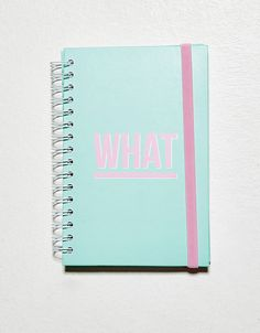 Message notebook. Discover this and many more items in Bershka with new products every week