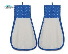 This daily deal for the Truhome Cotton High Quality Hand Towels(Set Of 2) (Blue) is the best price in Indian online shopping and, just like every product sold on Bhaap.com, is a 100% genuine product. It has the following specifications:  Brand: Truhome Type: Hand Towels Material: Cotton Colour: Blue Size: Regular Quality: 300 GSM