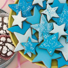 molasses spice star cookies httpwwwparentscom