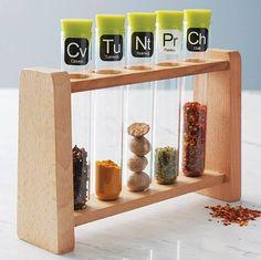 scientific spice rack by thelittleboysroom | notonthehighstreet.com