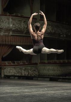 Ballet leap. Working on it:)
