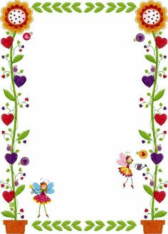 Printable frames and borders // Use as a background for the Book Creator app for the iPad to write a story or poem about the school garden. Printable Border, Printable Frames, Free Printable, School Border, Boarder Designs, Boarders And Frames, School Frame, Diy And Crafts, Paper Crafts