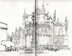 Urban Sketchers Spain. El mundo dibujo a dibujo.: Un marco incomparable