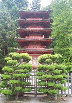 Japanese Tea Garden - Golden Gate Park - San Francisco, CA