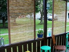 8 diy privacy screens for your outdoor areas, curb appeal, decks, fences, outdoor living, patio, repurposing upcycling, Photo via Christina Christina s Adventures