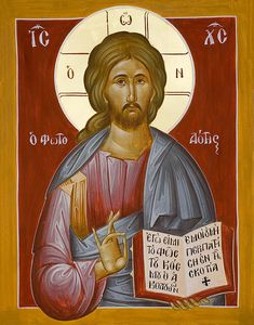 Christ the Light-giver www.ikonographics.net