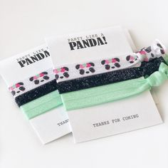 Wedding favor ideas and inspiration. Panda Party Favors, Panda Birthday Party, Dinosaur Party Favors, Party Favor Bags, Birthday Party Favors, 8th Birthday, Birthday Ideas, Panda Baby Showers, Honey Wedding Favors