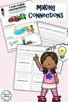 Practice the reading strategy of 'Making Connections' in a fun and 'differentiated' way.  $