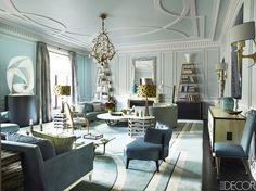 Inside a Princess's Incredible Paris Home via @MyDomaine (Simon Upton via Elle Decor)