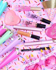 Too Faced I Want Kandee Melted Matte Liquified Matte Long Wear Lipstick Collection - Melted Ice Cream (matte pinky nude) (affiliate link) Too Faced, Cute Makeup, Beauty Makeup, Melted Matte, Magical Makeup, Long Wear Lipstick, Lipstick Collection, Latex, Make Up