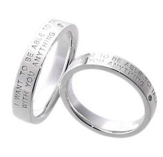 #LoveMarkPH Let's Talk Silver Couple Ring: Made with 92.5% silver & 1 piece of 0.01 ct diamonds  [Item code: lr0022]