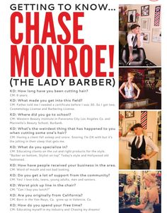 Chase the Lady Barber