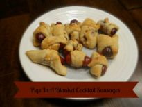 Pigs in a Blanket Cocktail Sausages RecipeWhen is Dinner - Because my kids are always asking me Mom, When Is Dinner!