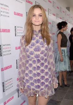 Floral dreaming - @kerrisdorsey attending the National Women's History Museum Brunch in our Clover Mini Dress