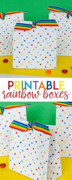 Free Printable Rainb