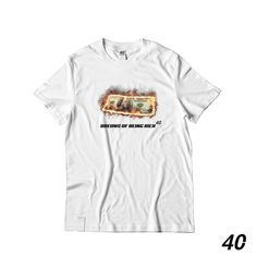 Dreams Of Being Rich . Shop at Street Style, Dreams, Long Sleeve, Sleeves, Clothing, Mens Tops, T Shirt, Shopping, Instagram