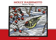 Molly Hashimoto: Winter Wings Holiday Card Assortment