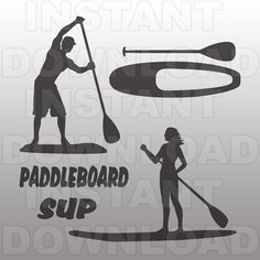 SVG Bundle,Paddleboarder SVG File,Paddleboard SVG File-Vector Clip Art for Commercial & Personal Use-for Cricut,Cameo,Silhouette,Vinyl,Decal
