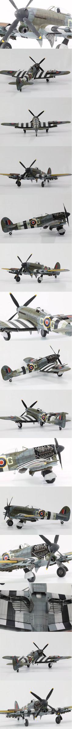 Hawker Tempest Mk.V 1/48 Scale Model