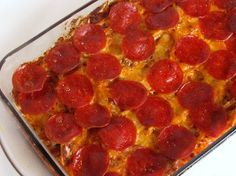 Mama's Pizza Casserole | RecipeLion.com