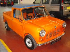 1967 PICK UP TOTALLY REBUILT BY A MINI SPECIALIST FOR THE FIRMS OWNER