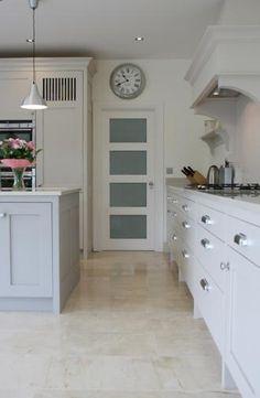 Sandymount Plain English Painted Kitchen by David Dempsey
