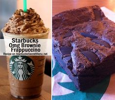 OMG!!!! BROWNIE FRAPPUCCINO! I Love You Starbucks !! Need to try it !