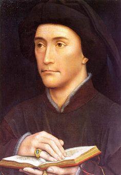 Portrait of a Man holding a book by Rogier van der Weyden