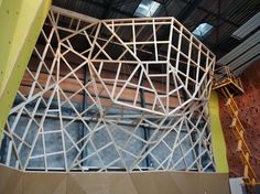 climbing wall, Entre Prises climbing walls, wood climbing wall ENTRE-PRISES International