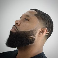 Hair Beard Models – Frisuren – Bartformen: Black Beard Styles – Marie – Join the world of pin Beard Styles For Men, Hair And Beard Styles, Short Hair Styles, Trimmed Beard Styles, Bart Styles, High Fade Haircut, Beard Shapes, Beard Fade, Man Beard