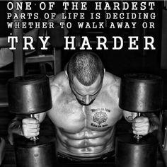 Try harder #GymMotivation #gohardorgohome #fitness #inspiration #motivation #fitspiration #health