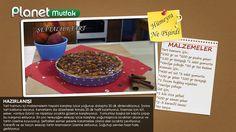 """""""Bir Pasta Masalı"""" programında Hümeyra Aydoğdu'nun sizler için yaptığı """"Şeftalili Tart"""" tarifi."""