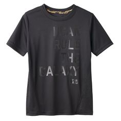 """Boys 4-7x Star Wars a Collection for Kohl's Abstract """"I Can Rule The Galaxy"""" Tee, Boy's, Size: 7X, Black"""