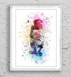 jiminy Cricket Disney Print Art Print Art Print by MulticolourArt
