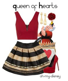 1000 images about Disney inspired Outfits on PinterestQueen Of Hearts Disneybound