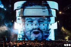 Steve Angellos head stage Swedish House Mafia @ Coachella 2012