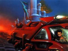 Jim Burns cover art Stainless Steel Rat - Google Search
