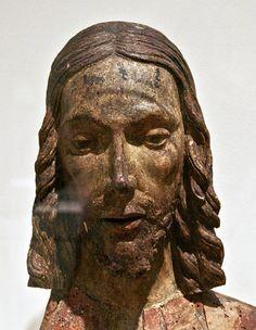 15th Century German bust of Christ.