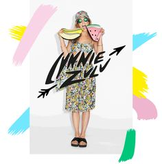 The whole #LynnieZulu4Monki collection in one magical gif!