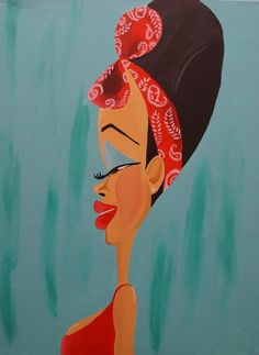 African Heritage City Art by Tiffani