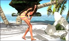 https://flic.kr/p/wNkSF5 | CODE 0711 - Sol, arena y mar 03 | Jumper Lluvia 04 => marketplace.secondlife.com/p/Code-0711-Romper-Lluvia-04/7... Pose 15 => marketplace.secondlife.com/p/pose15/7454576