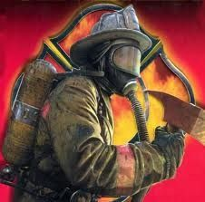 #OneBraveThing Firefighters are brave because they risk their lives to save the lives of others.